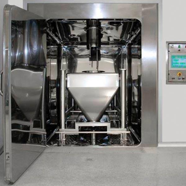Cabina de rentat a alta pressió IWT C-Line distribuida per Netsteril