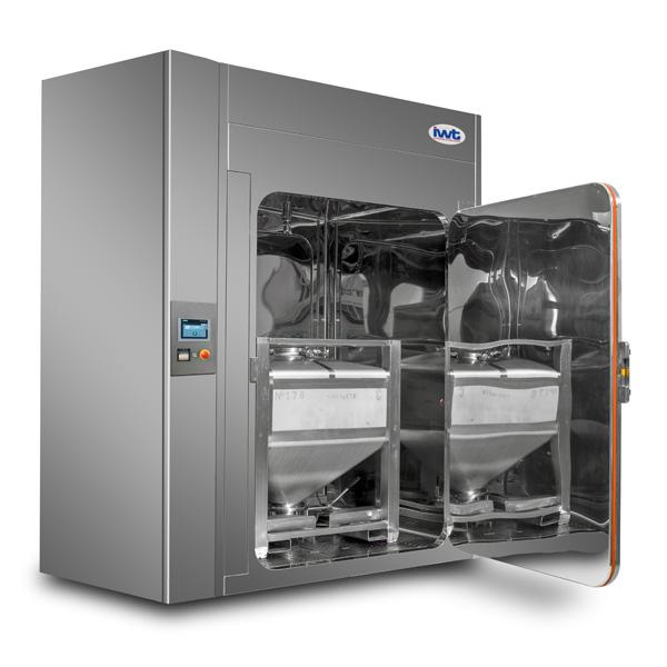 Cabina de lavado a alta presión IWT C-Line distribuida por Netsteril