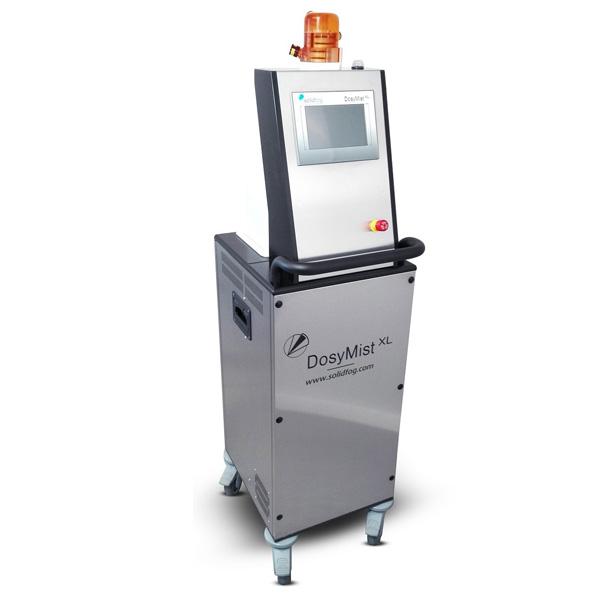 Equipo portátil de generación VH2O2 para salas o areas grandes Solidfog distribuido por Netsteril