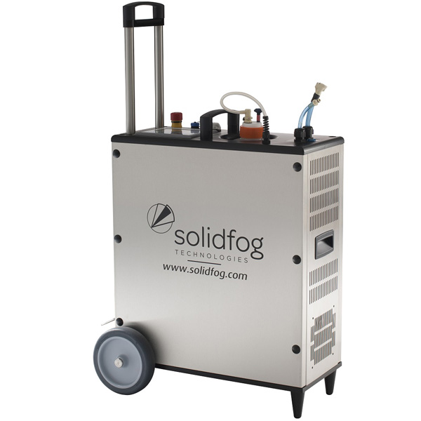 VH2O2 generation mobile unit for rooms or small enclosures Soldifog distributed by Netsteril