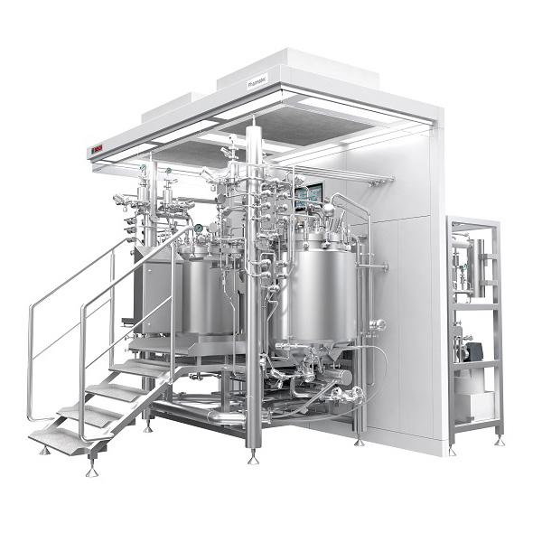 Sistemas de proceso para preparación formas farmacéuticas líquidas distribuidos por Netsteril