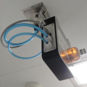 Sistemas integrados de generación VH2O2 para salas o instalaciones Soldifog distribuidos por Netsteril