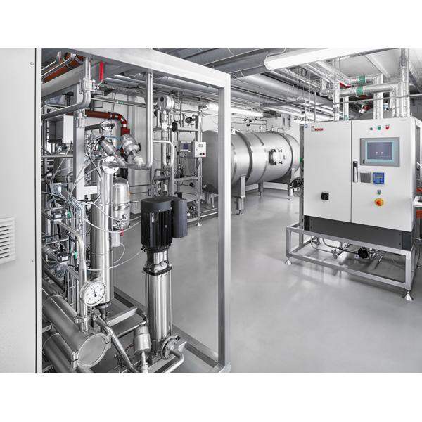 Skids de almacenamiento y distribución de PW/WFI Bosch Pharmatec, Neopure (by CIFA distribuidos por Netsteril