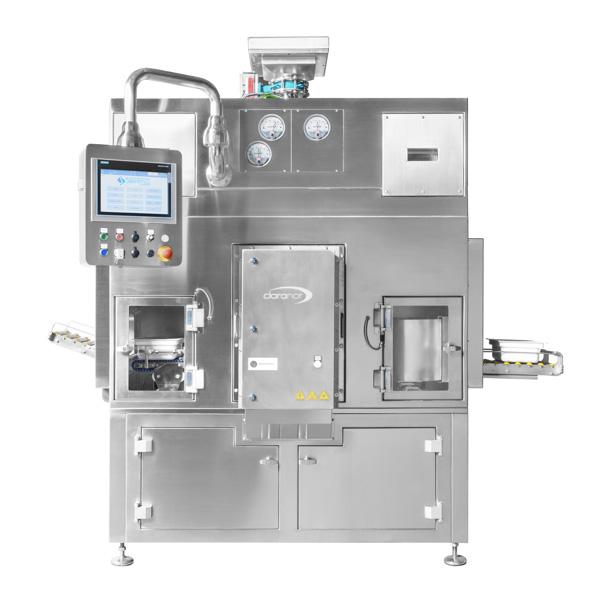 Sistema robotizado de descontaminación de tinas con frascos anidados steriline-Pulsed-Light-Sterilizer-629