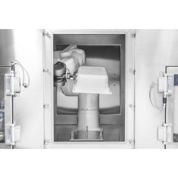 Sistema robotizado de descontaminación de tinas con frascos anidados steriline-Pulsed-Light-Sterilizer-633