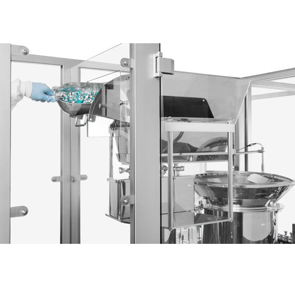 Líneas completas de lavado, despirogenación y llenado de viales a granel: Máquinas de capsulado de viales distribuidas por Netsteril, Steriline 393-VFM200