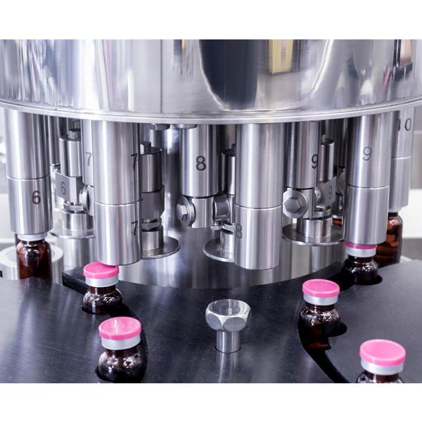Líneas completas de lavado, despirogenación y llenado de viales a granel: Máquinas de capsulado de viales distribuidas por Netsteril, Steriline 607-Vials-Filling-Line-200-under-ISO