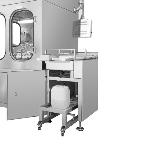 Máquinas de descontaminación externa distribuidas por Netsteril: Steriline-512-EDM1