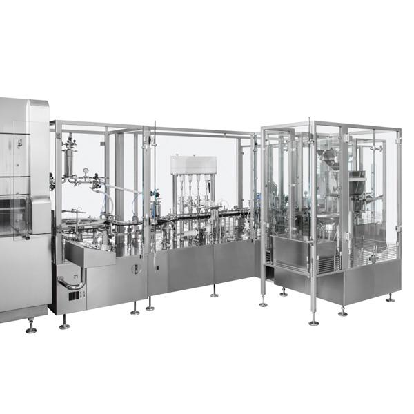 Líneas completas de lavado, despirogenación y llenado de viales a granel: Máquinas de llenado aséptico Steriline-388-VFM200