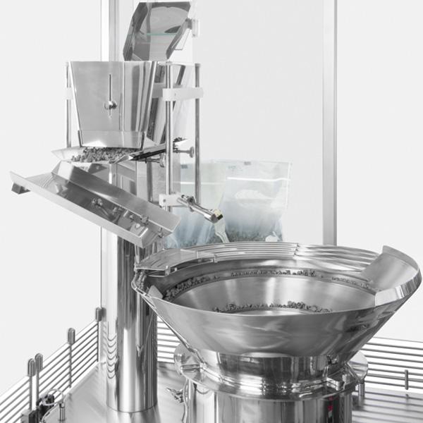 Líneas completas de lavado, despirogenación y llenado de viales a granel: Máquinas de llenado aséptico Steriline-392-VFM200