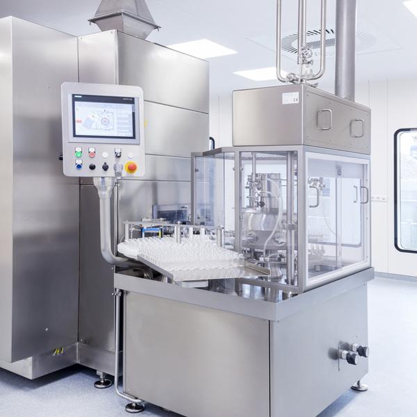 Tecnologias de envasado Netsteril: maquinas lavadoras rotativas steriline 427-RA-V4