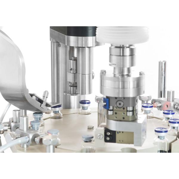 Máquinas robotizadas de capsulado de viales distribuidas por Netsteril: Steriline-0920-RVCM