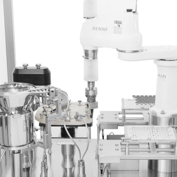 Máquinas Robotizadas de Capsulado de Viales distribuidas por Netsteril