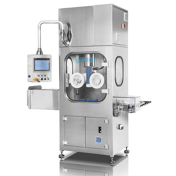Máquinas robotizadas de descontaminación externa distribuidas por Netsteril: Steriline-EDM-RHP-BASSA