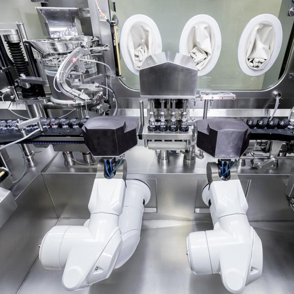 Máquinas Robotizadas de Llenado Aséptico distribuidas por Netsteril