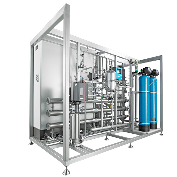 Sistemas de pre-tratamiento y generación de PW y WFI en frío Bosch Pharmatec