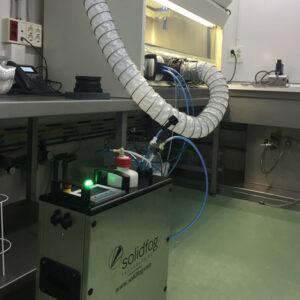 En Netsteril proporcionamos servicios de descontaminación con VH2O2 para la industria farmacéutica y las ciencias de la vida, como la aplicación en cabinas de bioseguridad