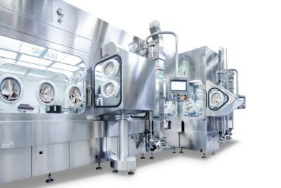 Steriline máquina de llenado aséptico aislador