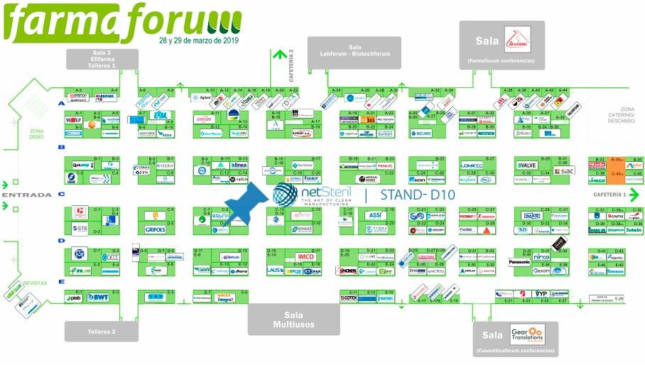 Neststeril estará presente en el stand D-10 de Farmaforum 2019
