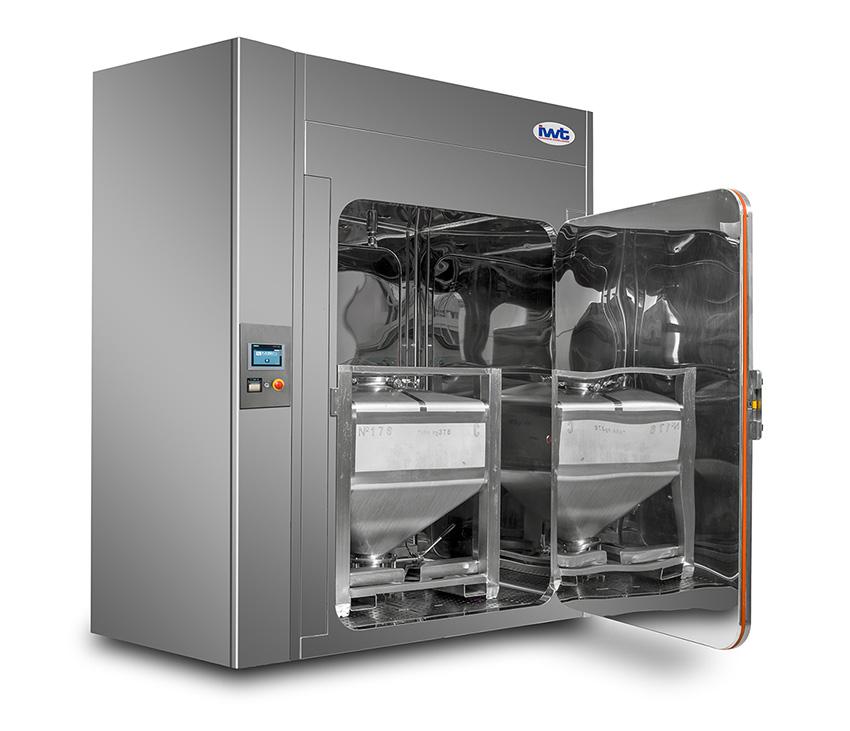 Vista de una lavadora multipropósito GMP de IWT