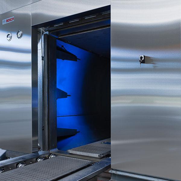Autoclaves de ducha con agua sobrecalentada Syntegon de Netsteril