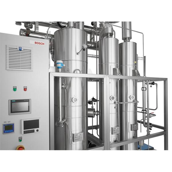 Netsteril distribuidor de destil·ladors de múltiple efecte de Bosch Pharmatec