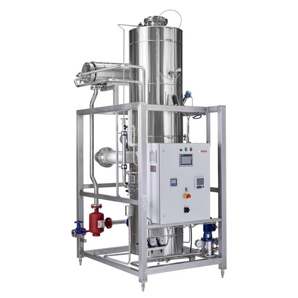 Generadores de vapor puro Syntegon de Netsteril