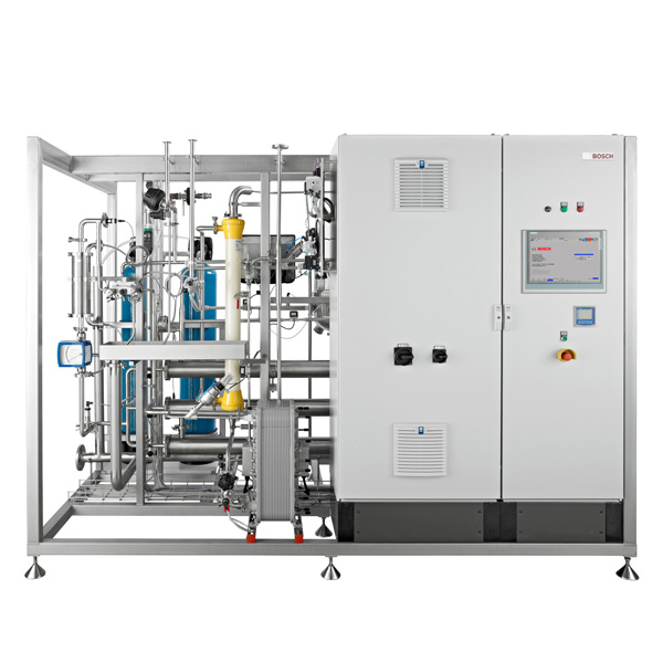 Sistemas de pre-tratamiento de agua y generación PW/WFI Syntegon de Netsteril