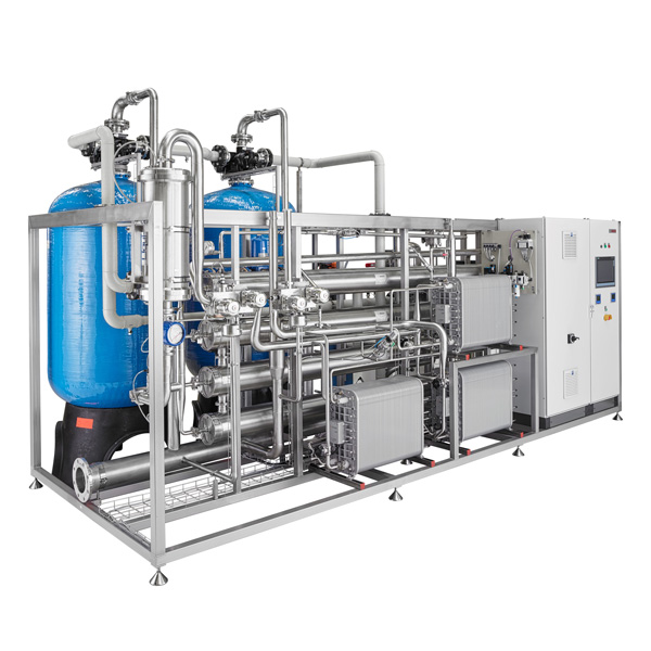 Pre-treatment and PW and WFI cold generation systems distribute by Netsteril