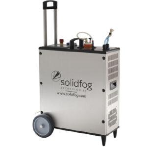 Equip portàtil de generació vh2o2 per sales o recintes petits de la marca Solidfog