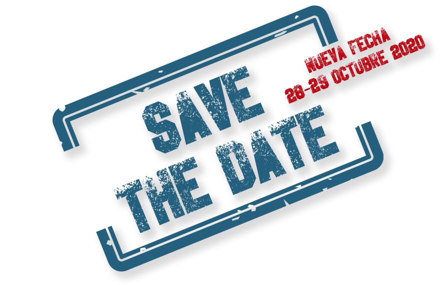 Sello save de date para la reserva de fecha para visitar el stand de Netsteril en Farmaforum 2020