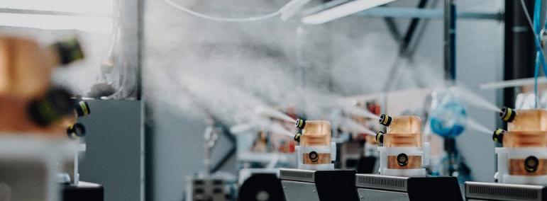 Equipos de biodescontaminación o desinfección por vía aérea con peróxido de hidrógeno vaporizado