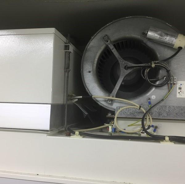 Descontamination of biosafety cabinets