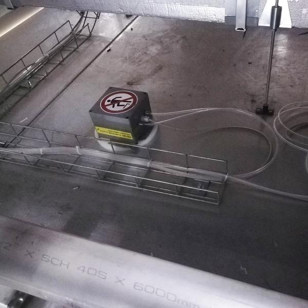 Equips i sistemes per a descontaminació/desinfecció amb VH2O2 ó VHP