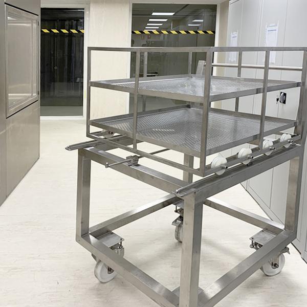 SAS de biodescontaminación carga de materiales de Neopure