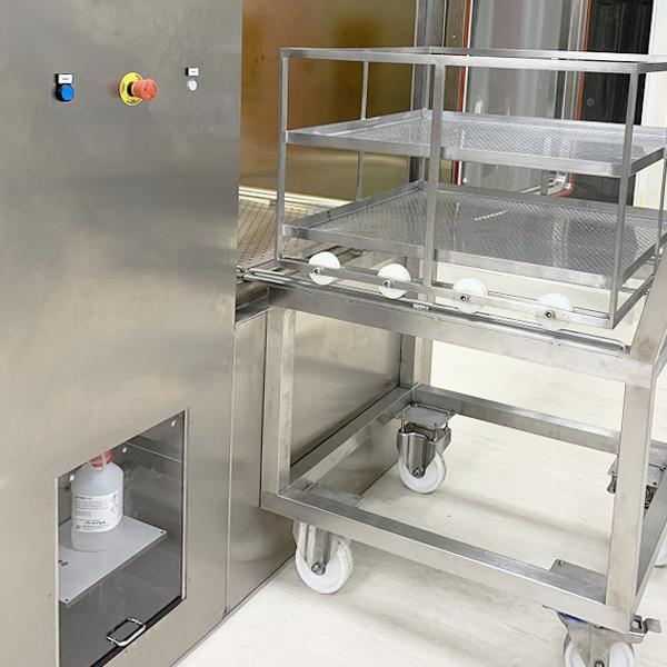 SAS de biodescontaminación Neopure imagen del carro de transferencia de materiales