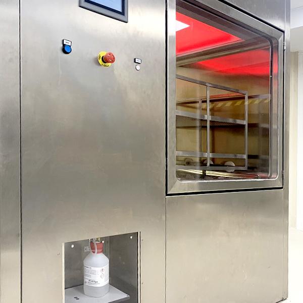 SAS de biodescontaminación alta concentración de Neopure