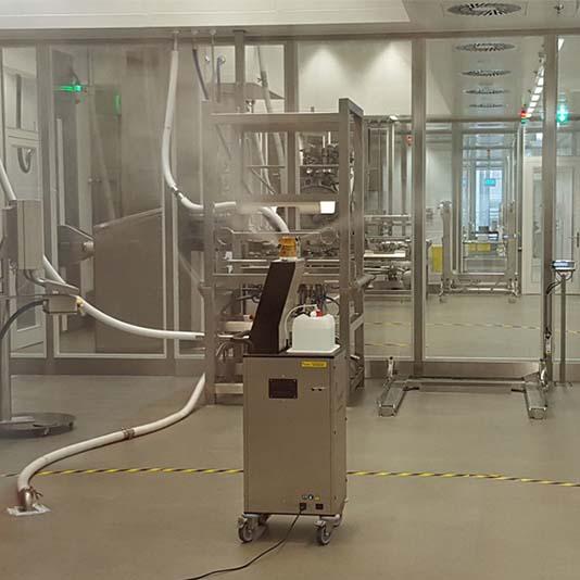 Equipos para biodescontaminación